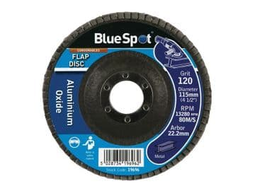Sanding Flap Disc 115mm 120 Grit